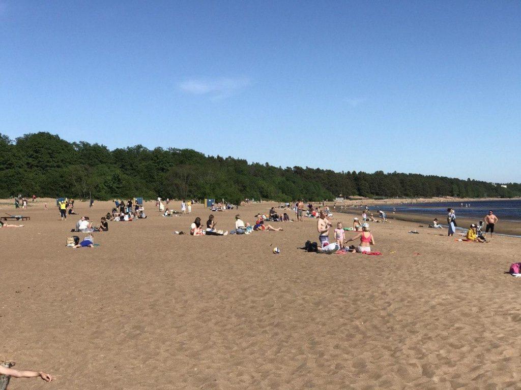 В Петербурге и Ленобласти закончился купальный сезон