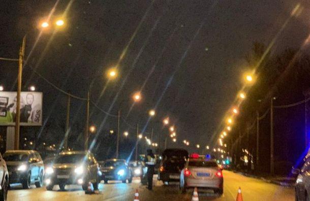Житель Петербурга насмерть совершил наезд на пенсионерку на пешеходном переходе