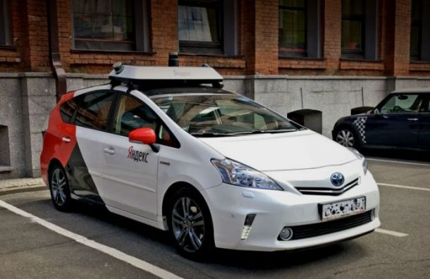 Беспилотные машины протестируют на дорогах Санкт-Петербурга
