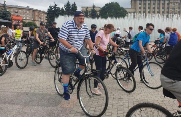 Амосов предложил внести велодорожки в генплан Санкт-Петербурга