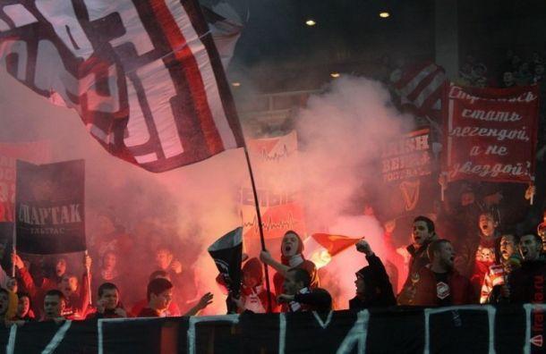 Фаната «Спартака» оштрафовали в Санкт-Петербурге за мат на ул.