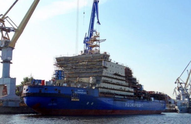 Крупнейший неатомный ледокол «Черномырдин» вышел в море