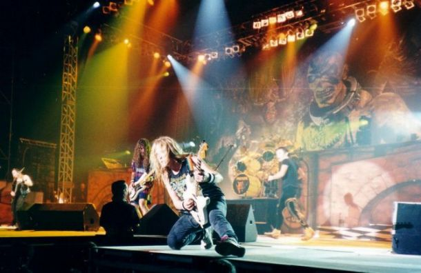 Iron Maiden приедут с концертом в Санкт-Петербурге