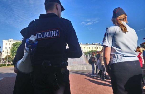 Полицейские устроили погоню за росгвардейцами-взяточниками в Санкт-Петербурге
