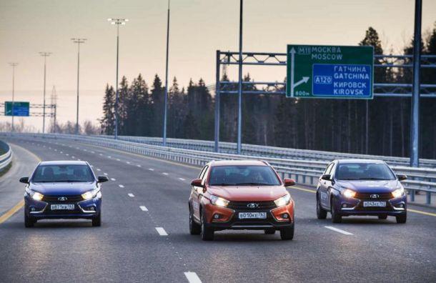 Ехать со скоростью до 130 км/ч по трассе «Нева» разрешат уже весной