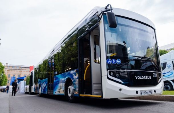 Санкт-Петербург закупит 200 новых автобусов к чемпионату Европы