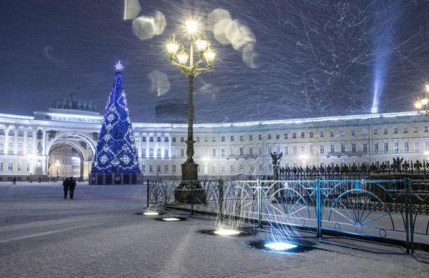 Санкт-Петербург вошел в список мест, где интереснее всего встречать Новый год
