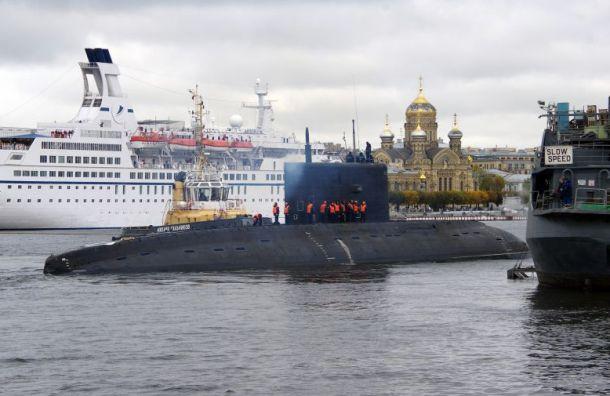 Подлодку «Петропавловск-Камчатский» испытывают в море