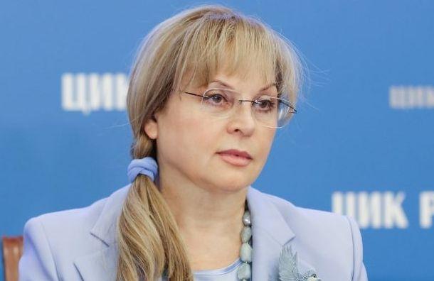 Памфилова не ставит под сомнение итоги выборов губернатора Санкт-Петербурга