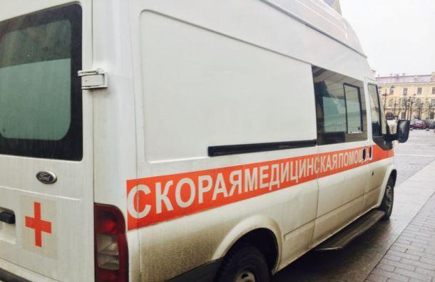 Пачка строительных листов перебила ноги рабочему на Пороховых