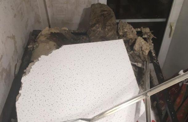 Бастрыкин поручил возбудить уголовное дело после обрушения потолка в Санкт-Петербурге