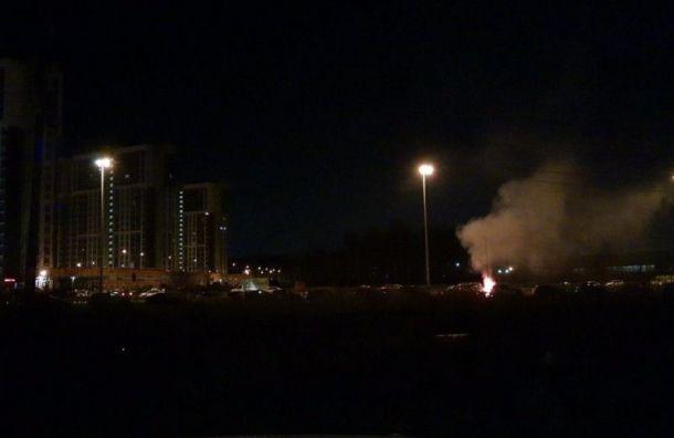 Ночью на Парашютной ул. велась война за парковочное место