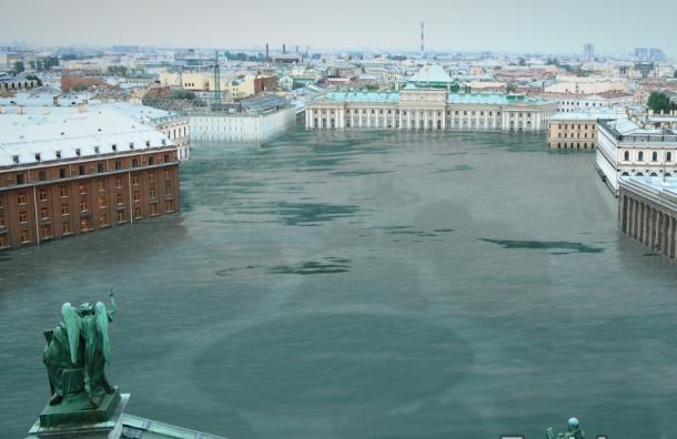 Greenpeace «состарил» Санкт-Петербург с помощью EarthApp
