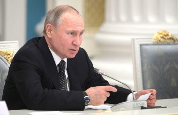 Путин выразил готовность помочь Ирану в борьбе с коронавирусом