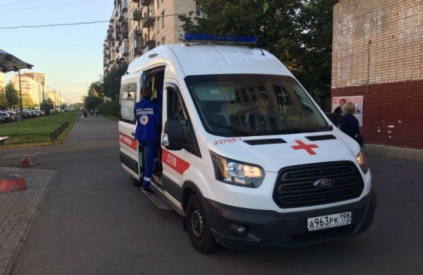 Полицейский ударил в живот кандидата в мундепы Елену Кондрашову