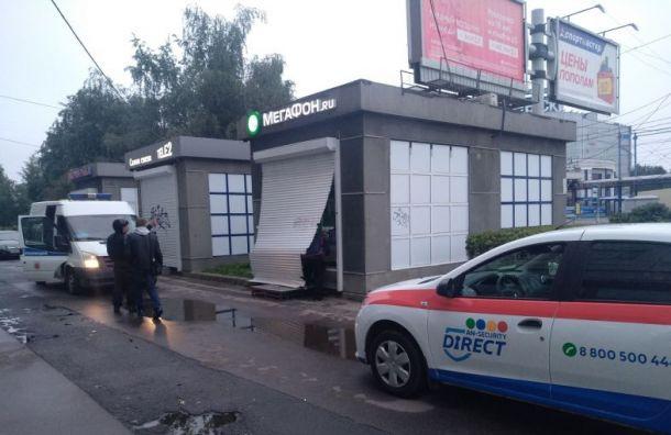 Салон «Мегафона» обчистили на «Ул. Дыбенко»