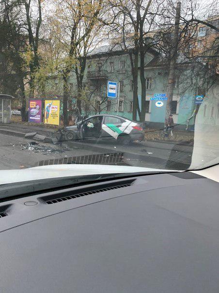 Две аварии с каршерингом случились утром в субботу