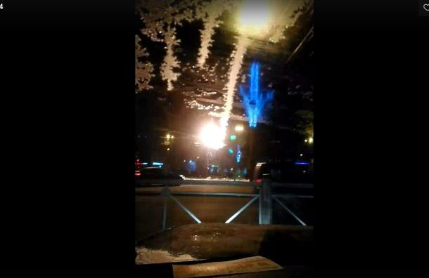 Трамвайные провода горят на Новочеркасской