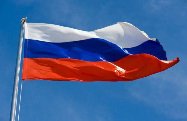 Неизвестные сорвали флаг России с Фрунзенского районного суда