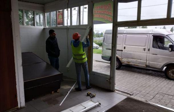 ККИ освободил незаконно занятый участок на Суздальском