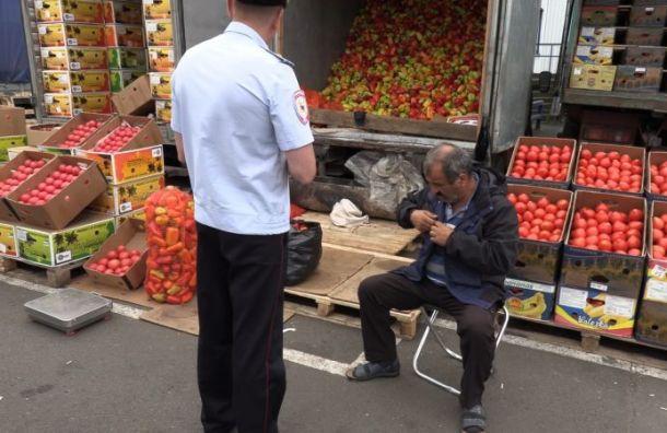 Полиция провела рейд после драки на овощебазе «Салова»