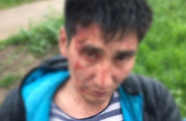 Подростки избили прохожего у метро «Проспект Просвещения»
