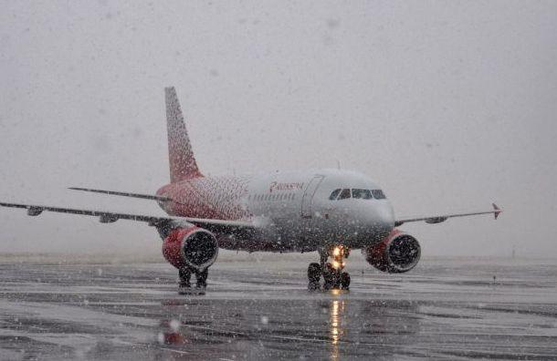 Самолет из Новосибирска в Санкт-Петербург задержали на 14 часов