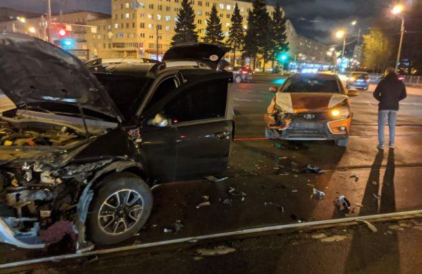 «Испортили вечер пятницы»: ДТП на Красногвардейской создало пробку