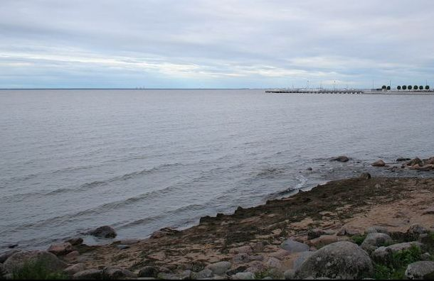 Катер с двумя пассажирами врезался в каменный мол на Финском заливе