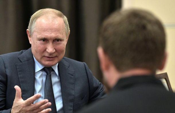 Самая красивая — в Санкт-Петербурге: Путин поспорил с Кадыровым о мечетях