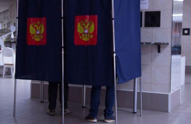Явка на выборах губернатора Санкт-Петербурга превысила 16%