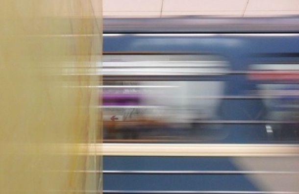 Коллапс случился на фиолетовой ветке метро