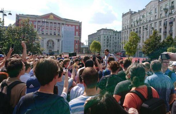 Амосов прокомментировал разгон митинга оппозиции в Москве