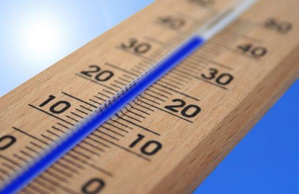 Санкт-Петербург может побить два температурных рекорда на этой неделе