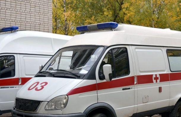 Мужчина избил врачей скорой помощи в Санкт-Петербурге