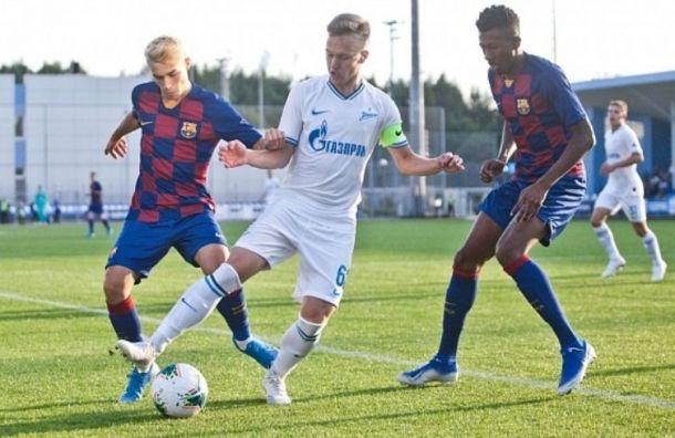 Молодые зенитовцы обыграли «Барселону» в матче юношеских команд