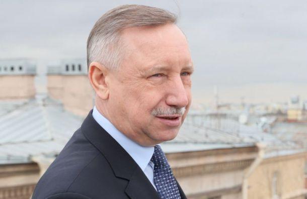 Беглов ввёл обязательный масочный и перчаточный режим с 12 мая