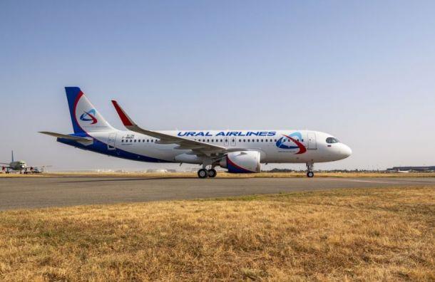 Вылетевший из Санкт-Петербурга самолет экстренно сел в Екатеринбурге