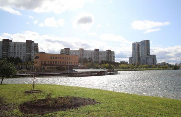 Парк Героев-пожарных на юге Санкт-Петербурга откроют в сентябре