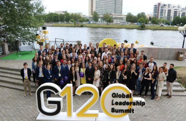 Лидеры Санкт-Санкт-Петербурга и Москвы встретились на Global Leadership Summit