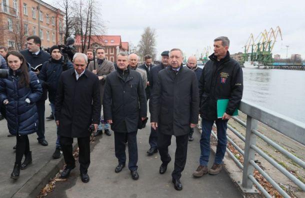 Беглов разрешил: Судебный квартал построят на месте сада на Неве