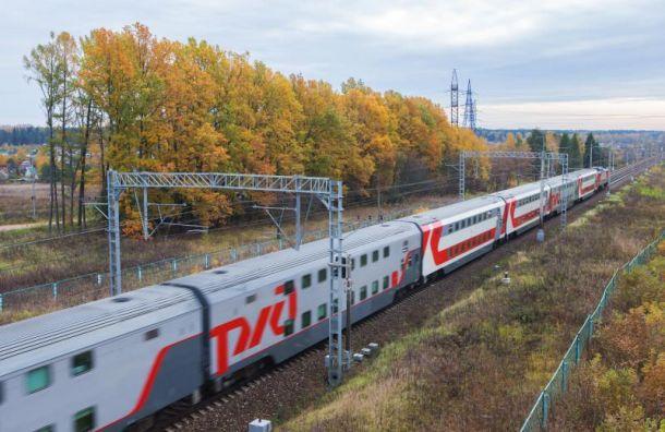 Между Петербургом и Мурманском начнут курсировать двухэтажные поезда