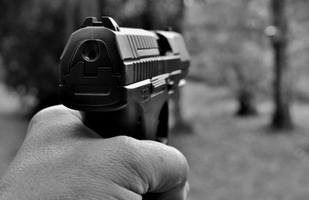 Рецидивист устроил уличную стрельбу на юго-западе Санкт-Петербурга