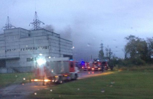 Пожар на транформаторной подстанции на Коммуны локализовали