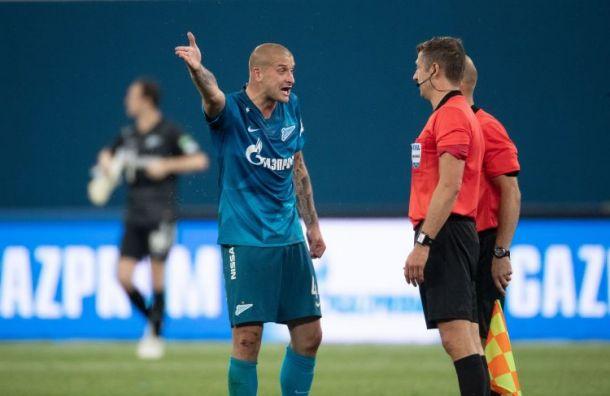 Зенитовцы возмущены судейством в матче с «Ахматом»