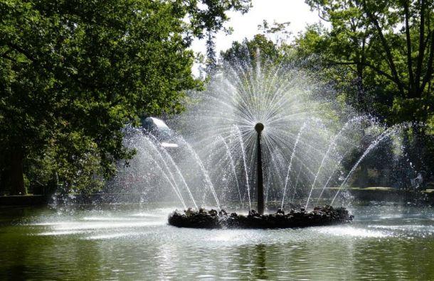 Водоканал будет охранять фонтаны от «пловцов» в День ВДВ
