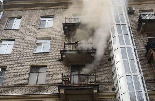 В Приморском районе в квартире сгорел мужчина