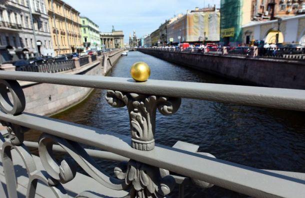 Позолоченные детали вновь украли с Банковского моста