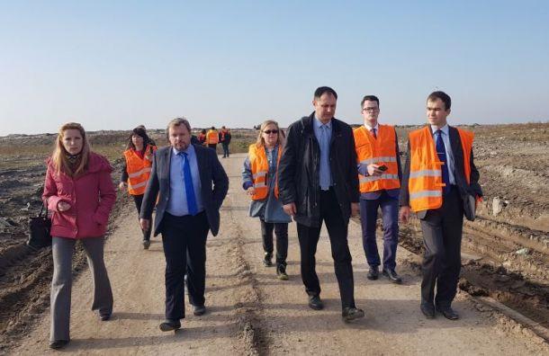 Полигон «Новоселки» рекультивируют на 70% к 2020 году
