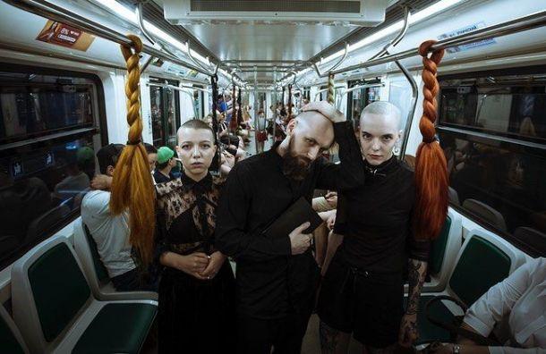 «Волосатые» поручни появились в петербургском метро